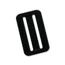 藤井 D環止め 2穴LT−P51−BLKHD黒