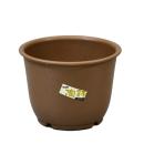 陶鉢輪型6号 きん茶