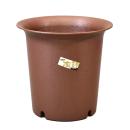 陶鉢深型10号 えび茶