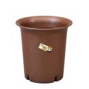 陶鉢深型5号 えび茶