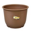 陶鉢輪型10号 きん茶