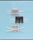 ストレーナーキャップ PVC ヨコ型 クロ NS−11Y