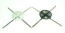ストレーナーキャップ PVC タテ型 グレー NB−8T