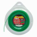 斬丸 ナイロンカッター 2.4×50m スクリュー型 緑