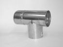 排気筒 L曲り ふた付 120mm