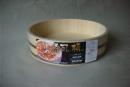 寿司桶 白木 P箍 33CM