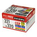 互換インク キャノン用 321+320 5色パック