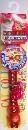 NM オールドフラワー01 首輪/赤