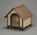 ウッディ犬舎 ブラウン WDK−750