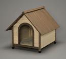 ウッディ犬舎 ブラウン WDK−900