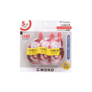 トンボ 修正テープ モノYR5 3個パック