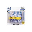 トンボ 修正テープ モノYR6 3個パック