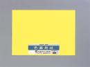 色画用紙5枚入4つ切りPI−N45レモン