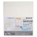 キングジム 医療ファイルポケット2段タイプ 2850BC