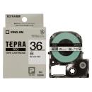 キングジム テプラテープ 36mm 白SS36K