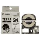 キングジム テプラテープ インデックス用白ラベル SSY24K