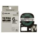 キングジム テプラテープ 6mm 透明ST6K
