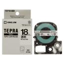 キングジム テプラテープ 18mm 透明ST18K