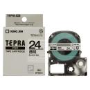 キングジム テプラテープ 24mm 透明ST24K