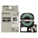 キングジム テプラテープ 18mm 白SS18K