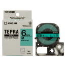 キングジム テプラテープ 6mm 緑SC6G