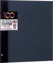 100年台紙 フリー替台紙 デミサイズ ブラック