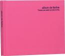 100年台紙フリーアルバム ミニサイズ ピンク