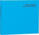 100年台紙フリーアルバム ミニサイズ ブルー