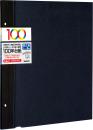 100年台紙 フリー替台紙 Lサイズ ブラック