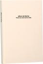 100年台紙フリーアルバム B5サイズ ホワイト