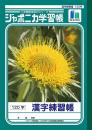 ジャポニカ学習帳 漢字練習帳 B5判120字