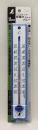 シンワ PC寒暖計 ブルー 25cm