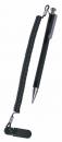 シャープペンシル2.0mm落下防止コイル付 黒