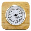 天然木温湿度計 CR−620