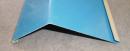 ブルー軒先水切120度0.35x1820