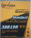 バッテリーGST−38B19R