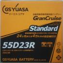 バッテリーGST−55D23R
