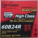 バッテリー GHC−60B24R
