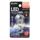 【ロイサポート用・作業費別・処分費別】ELPA LEDナツメ型E12 CL色