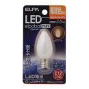 【ロイサポート用・作業費別・処分費別】ELPA LED電球ローソク型E12 L