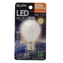【ロイサポート用・作業費別・処分費別】ELPA LED電球S型E17 L
