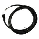 電動工具取替えコード 15A 黒 3M