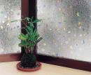 窓飾りシート 46×90cm レンズタイプ(ホログラム) GLC−4607