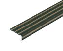 アルミ タイヤレスノンスリップ 幅38mm×1m アンバー D255−1