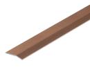 アルミ への字  じゅうたん押え  幅35mm×1m 木目 D345−1