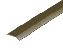 塩ビ への字 じゅうたん押え 幅35mm×1m ダークブラウン D341−1