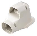 因幡電工 ウォールコーナー 換気エアコン用 LDWK−70S−W