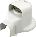 因幡電工 ウォールコーナー エアコンキャップ/換気エアコン用 LDWX−70−W
