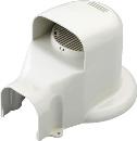因幡電工 ウォールコーナー エアコンキャップ/換気エアコン用 LDWX−70L−W