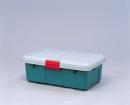 RV BOX (薄型収納ボックス) グレー/ダークグリーン 600F